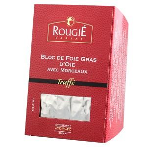 Bloc foie gras de oca con trozos trufado 500g