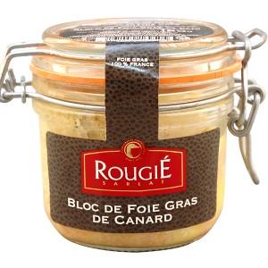 Bloc foie gras de pato 180g