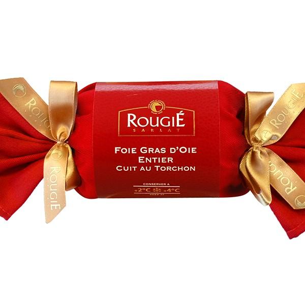 Foie gras de oca entero al torchón 300g