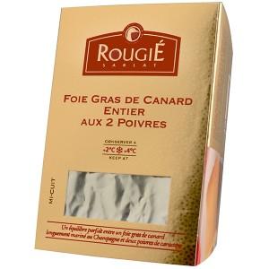 Foie gras de pato entero 2 pim.+champ. 500g