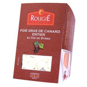 Foie gras de pato entero con vino de Syrah 500g