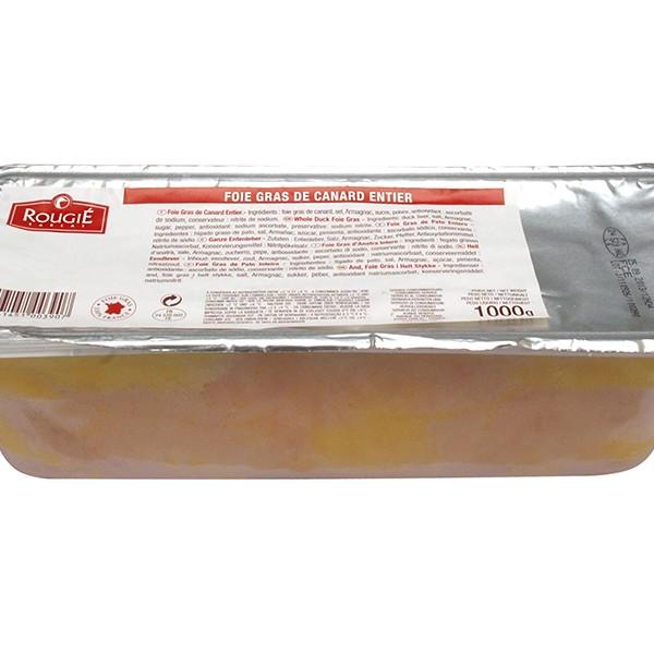 Foie gras de pato entero mi-cuit 1kg