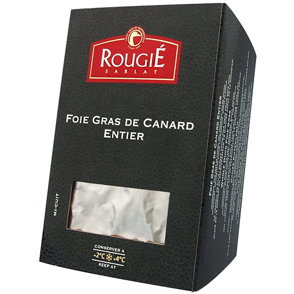 Foie gras de pato entero mi-cuit 500g