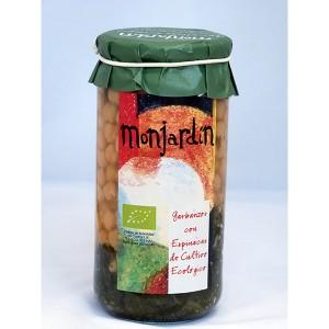 Garbanzos con espinacas Eco fco 1 kg