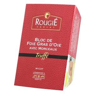 Bloc foie gras de oca con trozos trufado 180g