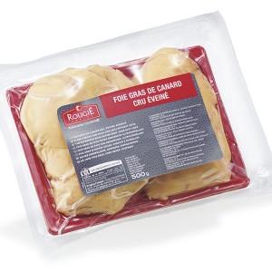 Foie gras de pato desvenado