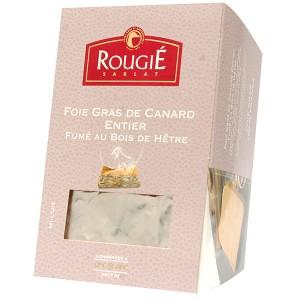 Foie gras de pato entero ahumado 500g