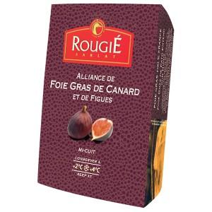 Foie gras de pato entero con higos 180g