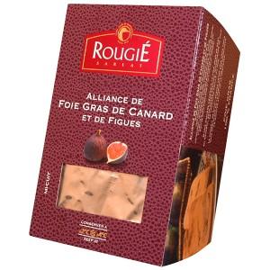 Foie gras de pato entero con higos 500g