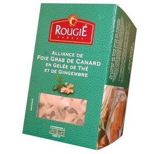 Foie gras de pato entero con té y jenjibre 500g